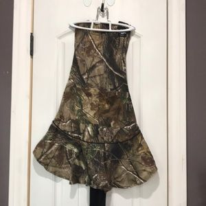 Camo cooking apron.